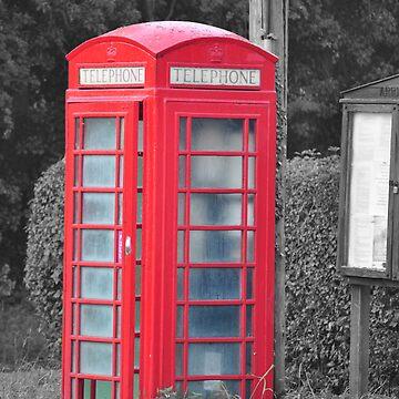 Red Phone Box by DaveKing71