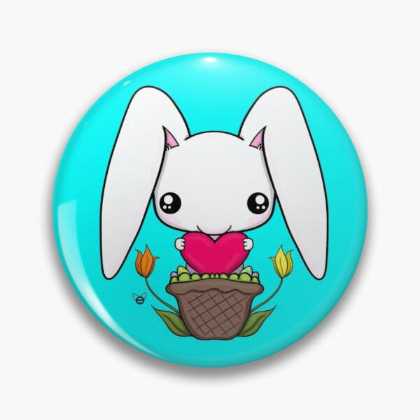 Love Bunny Pin