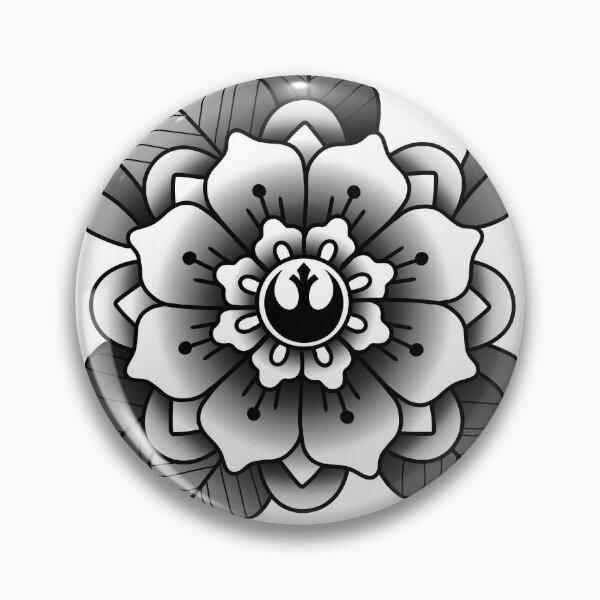 resistance flower Pin
