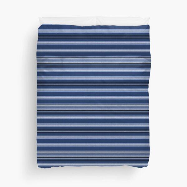Blue stripes Duvet Cover