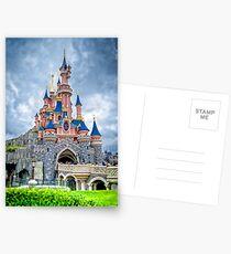 Sleeping Beauty's Castle Postcards