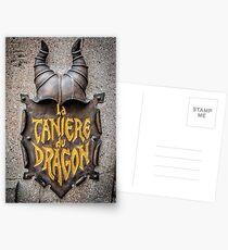 La Caniere du Dragon Postcards