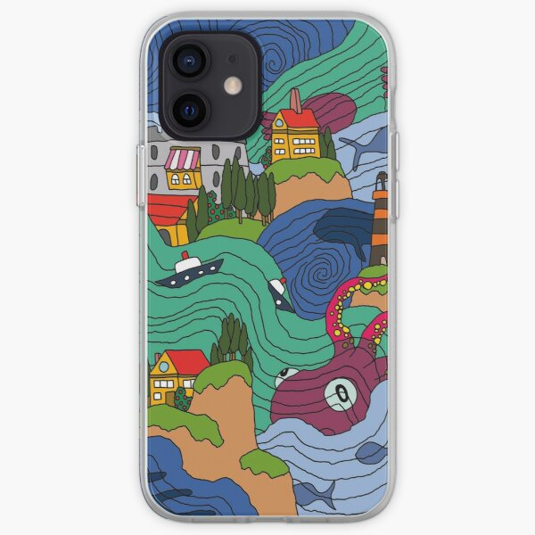Mosaïque océan Coque souple iPhone