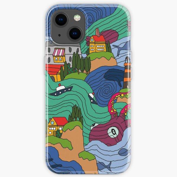 Ocean Mosaic iPhone Soft Case