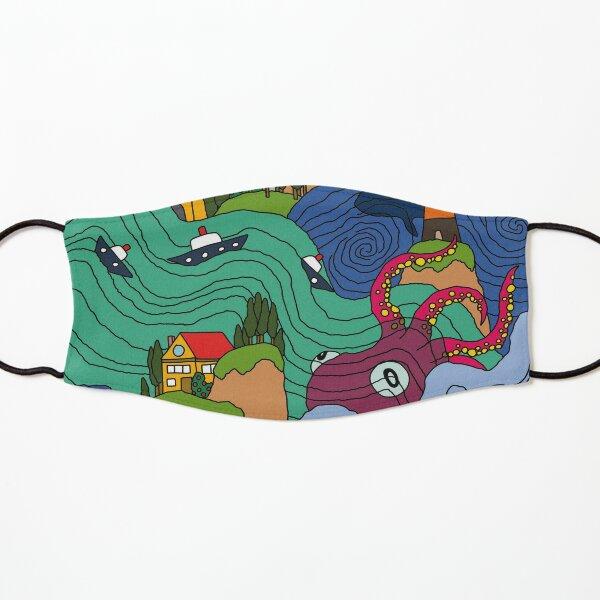 Ocean Mosaic Kids Mask