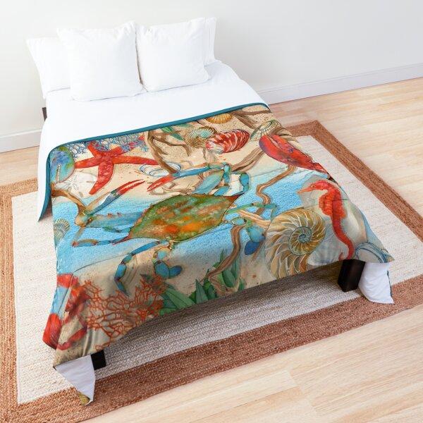 Coastal Sea Life Comforter