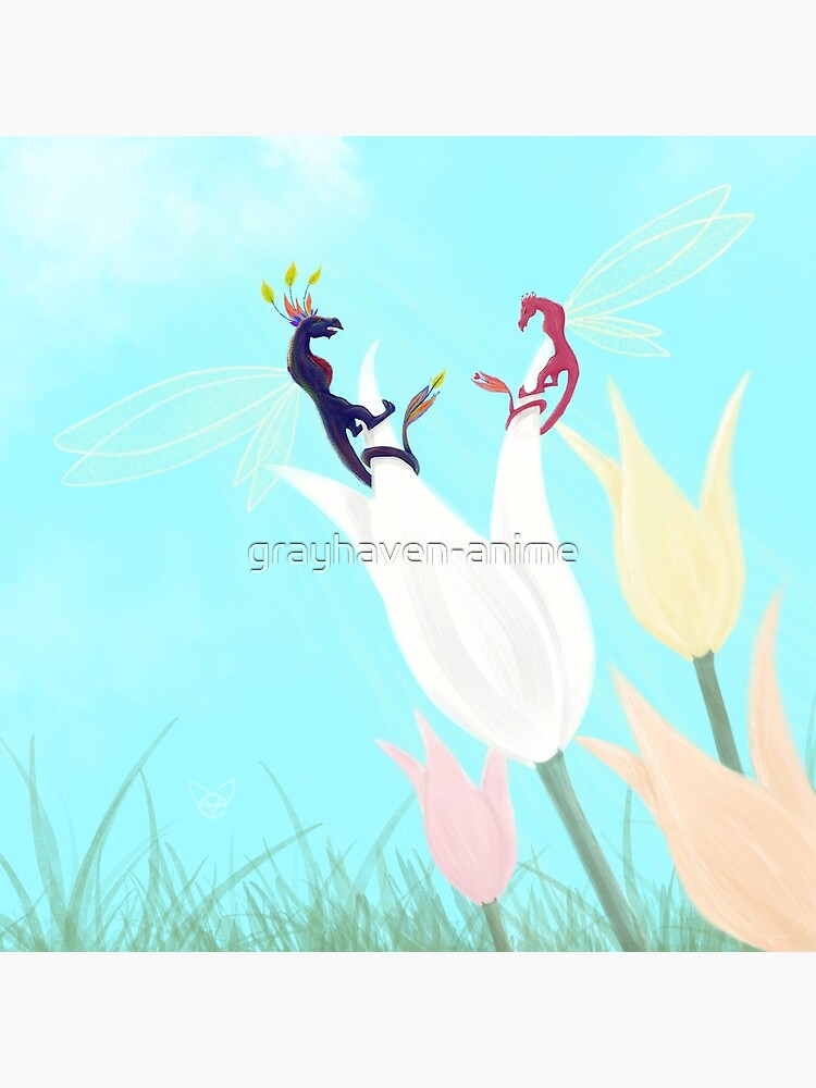 Dragonflies  by grayhaven-anime