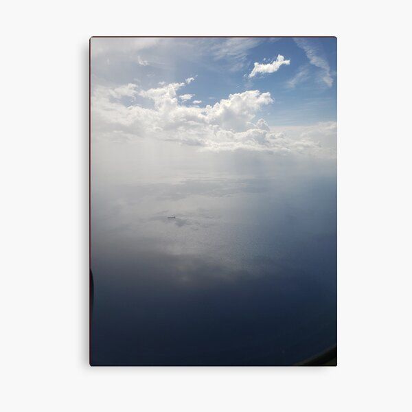 Sky Clouds Aerial Art Photography Canvas Print