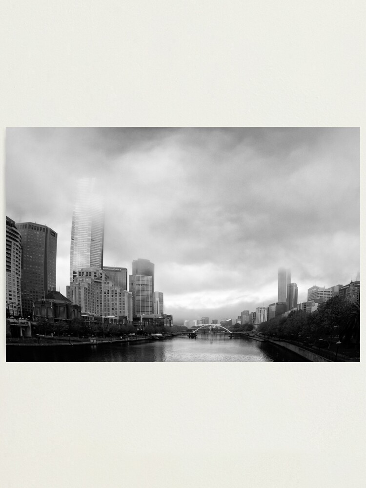 Alternate view of Morning Melbourne Storm - Victoria - Australia Photographic Print