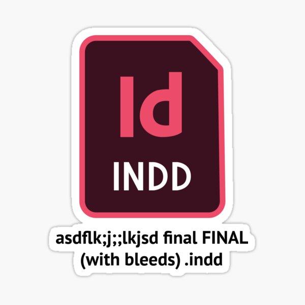 InDesign File Name Sticker