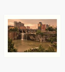 Good Morning Rochester © Art Print