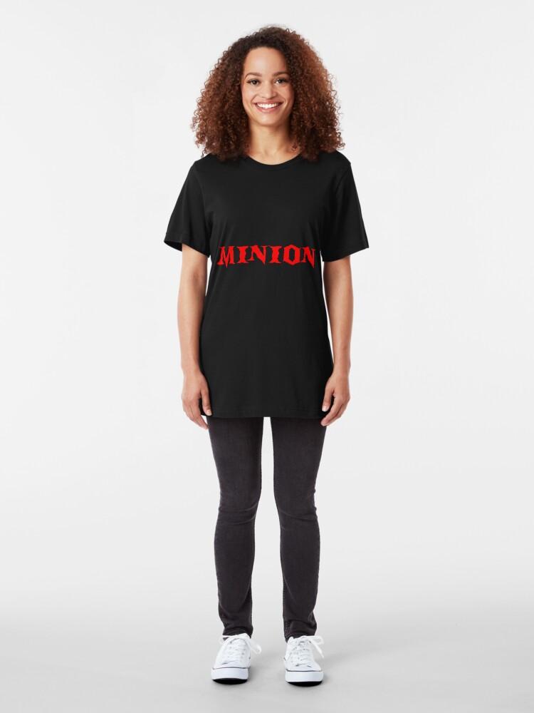 "Alternate view of ""Minion"" T-Shirt Slim Fit T-Shirt"