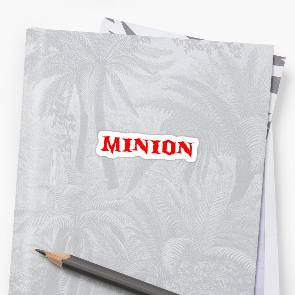 """Minion"" T-Shirt by MissRoseNoir"