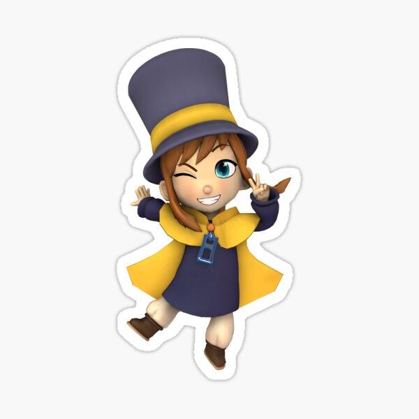 Hat Kid Sticker