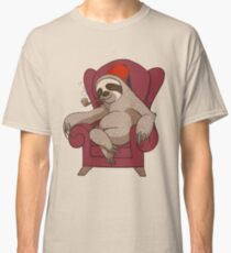 Sophisticated Sloth Classic T-Shirt