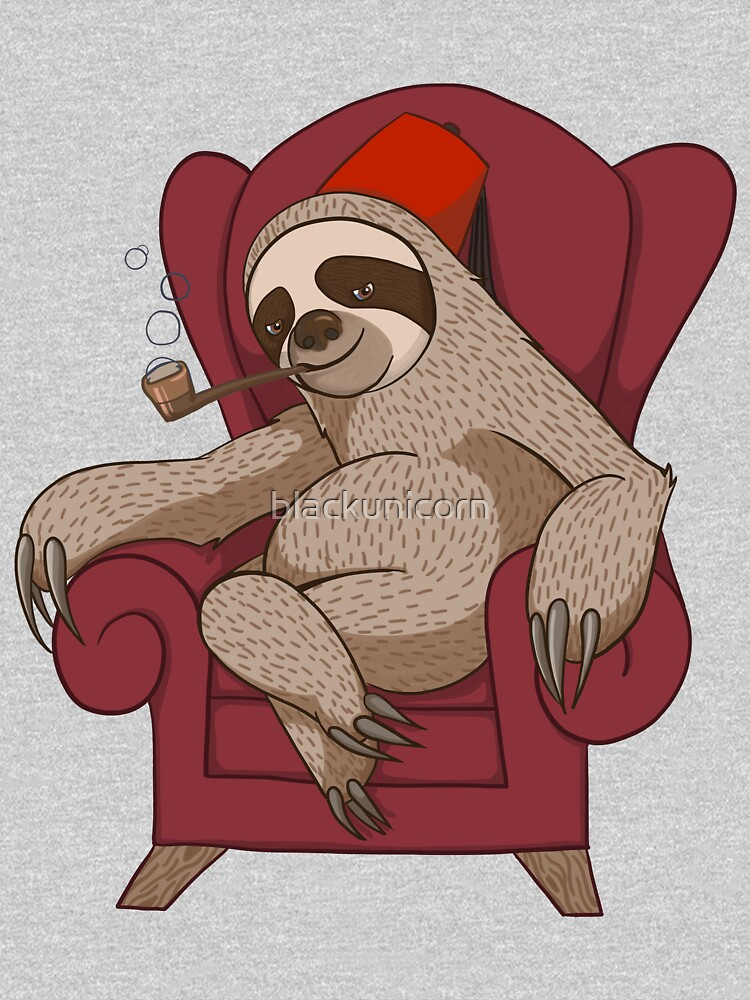 Sophisticated Sloth by blackunicorn