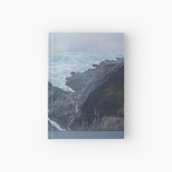 Alemania Glacier, Beagle Channel, South America Hardcover Journal