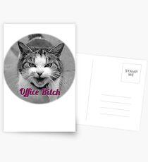 office bitch Postcards