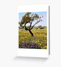 AALBG - Wildflower season Greeting Card