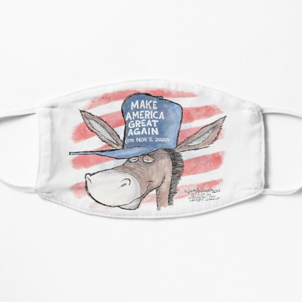 Make America Great Again! (In red, white and blue) Mask