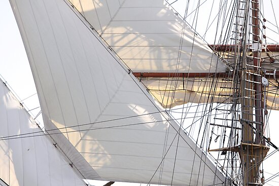 Diagonsails III by Stephen Mitchell