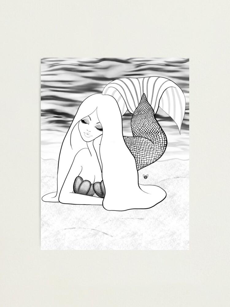 Alternate view of Mermaid  Photographic Print