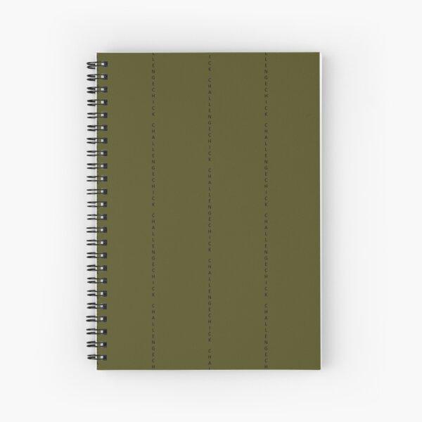 ChallengeChick Spiral Notebook