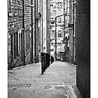 narrow street by paolo amiotti