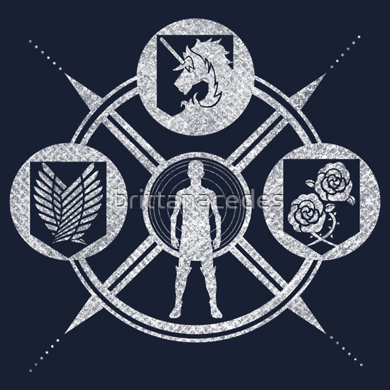 TShirtGifter presents: Shingeki no Kyojin: Choose Your Faction | Unisex T-Shirt