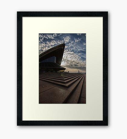 A Rocky Moment Framed Print