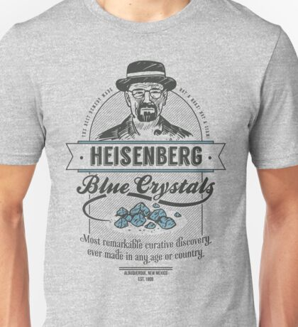 Blue Crystals Remedy Unisex T-Shirt