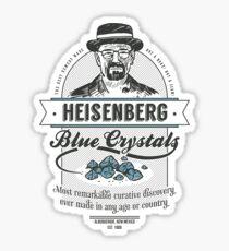 Blue Crystals Remedy Sticker