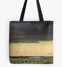 Storm over Therfield Tote Bag