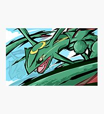Rayquaza | ExtremeSpeed Photographic Print