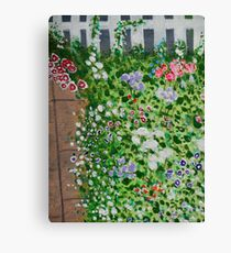 Up the Garden Path Canvas Print