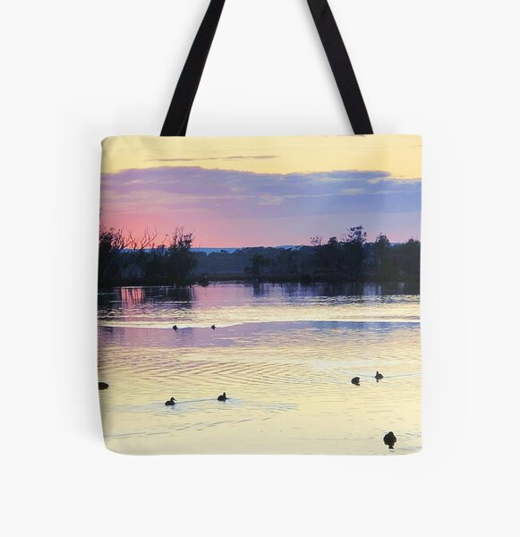 Early Morning, Serpentine River All Over Print Tote Bag
