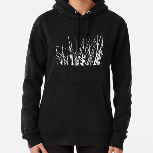Water grass (white) (T-Shirt) Pullover Hoodie