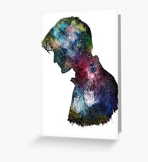 11's Time and Space Greeting Card