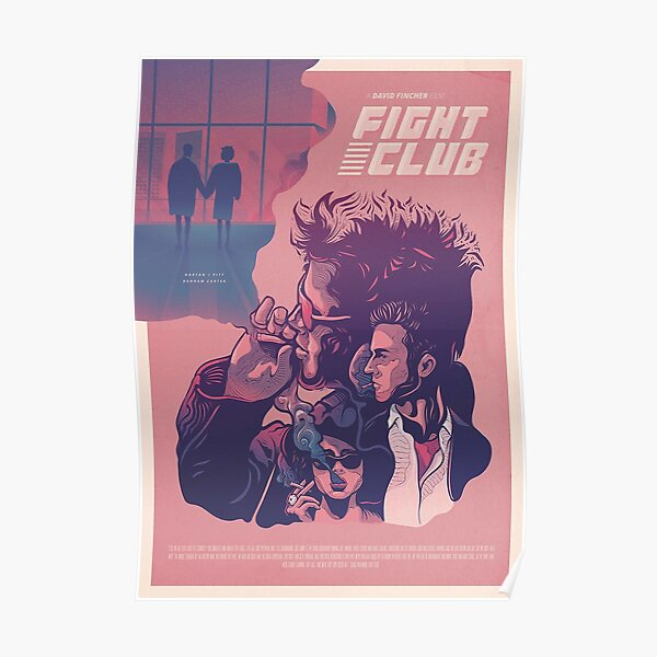 Cartel alternativo de la película Fight Club (1999) Póster