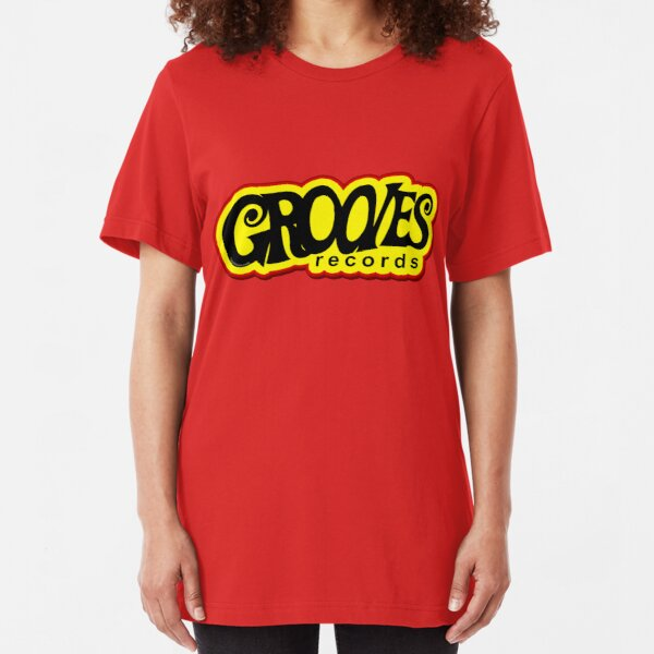 Grooves Records Slim Fit T-Shirt
