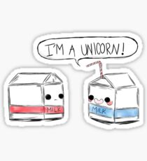 Unicorn Milk Sticker