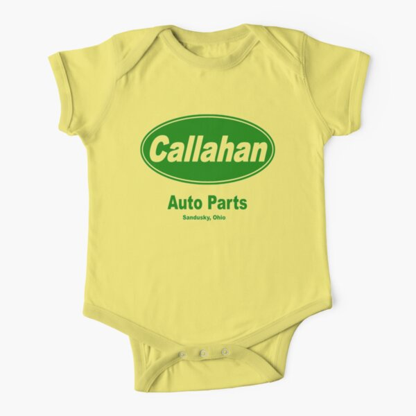 Callahan Auto Parts Short Sleeve Baby One-Piece