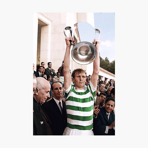 Billy McNeill in colour 1967 Photographic Print