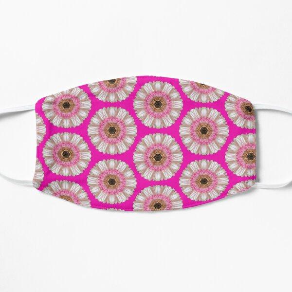 Pink gerbera on bright pink Mask