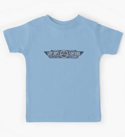 Lucky Lindy's Flight School Kids Clothes
