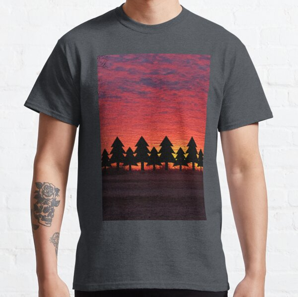 Sunset Trees Classic T-Shirt