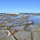 Rocks at Dicky Beach by TheaShutterbug