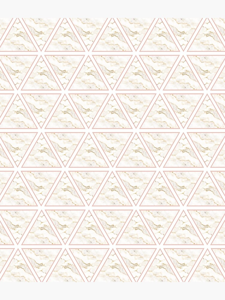 Marble Triangle Pattern by JannGirl