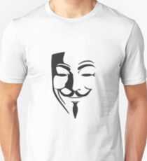 V For Vendetta Silhouette T-Shirt