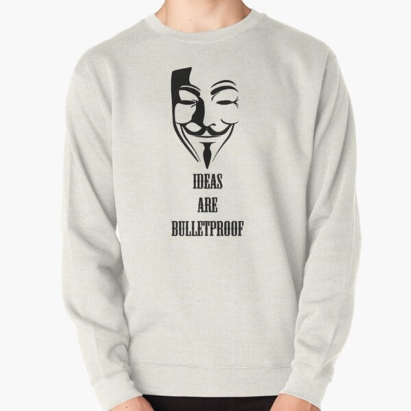 V for Vendetta Disobey Inspired Boys Girls Kids Mens Anonymous Geek Funny Hoodie